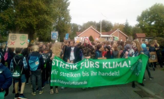 Klimastreik Eckernförde 20.9.2019